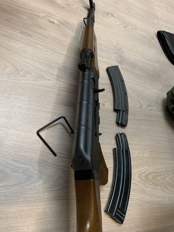 Carabine semi Armi Jager AP 80 type AK 47 Cal. 22Lr