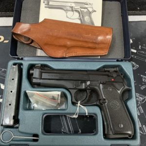 Pistolet Beretta 92 FS Brigadier Noir Cal. 9x19 mm