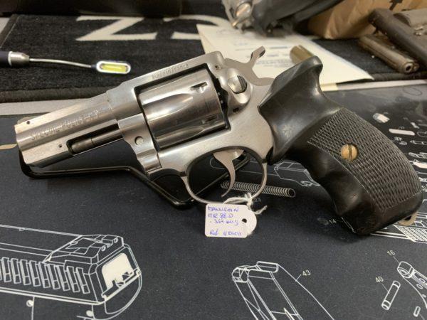 Revolver Manurhin MR88 Spécial Police inox Cal. 357 mag